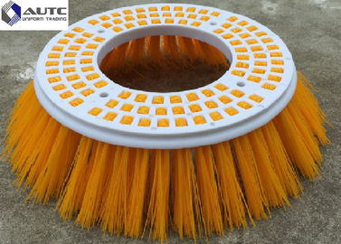Poly Elgin Side Broom Road Sweeping Brush Industria Colorful Road Sweeper Brush Round Plastic Broom Base Thickness 20mm
