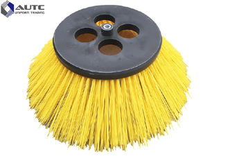 445*750mm Disc Poly Bristle Road Sweeper Rotary Street Road Sweeper Brush Motor Driven Sweeper Disc Brush OEM Accepted